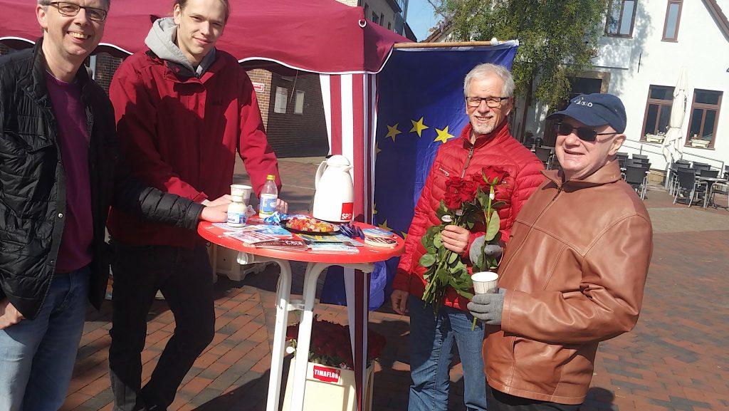 Infostand zur Europawahl
