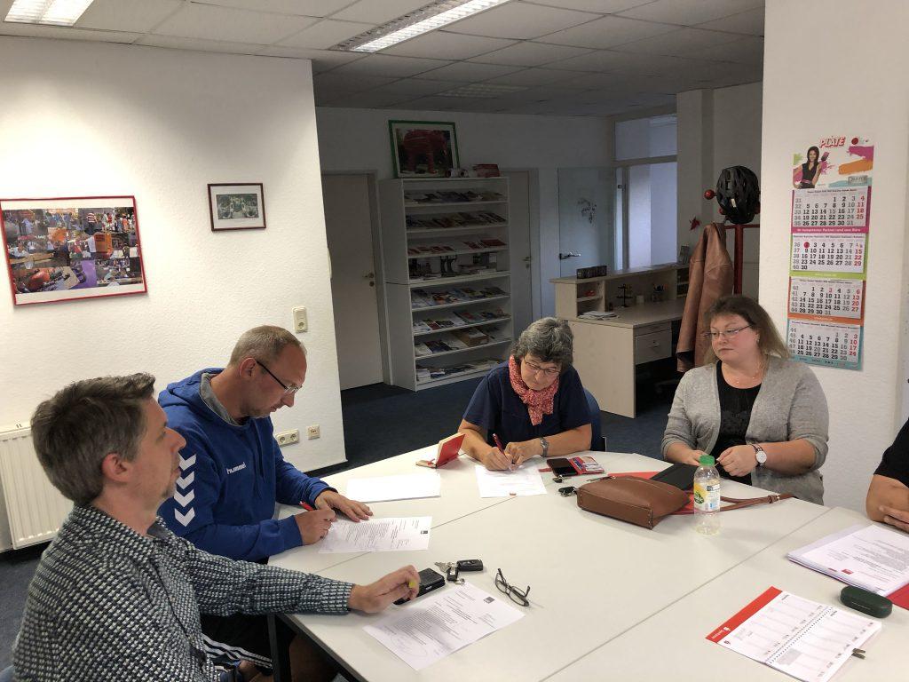 OV Vorstandssitzung 02. September 2019