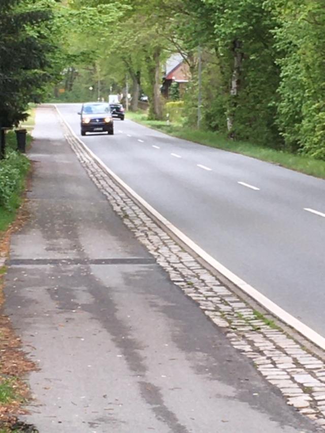 Radweg Am Knorren / Pennigbüttel Richtung Scharmbeck
