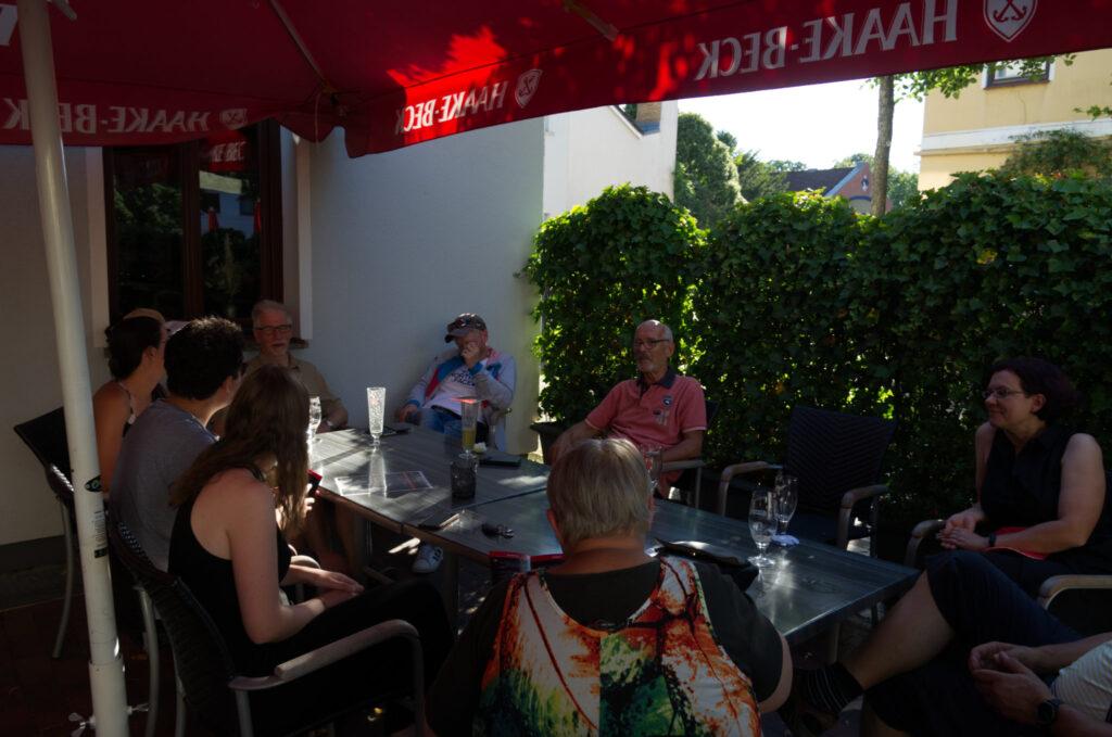 Treffen Fraktion und Vorstand am 05.08. bei Stagge