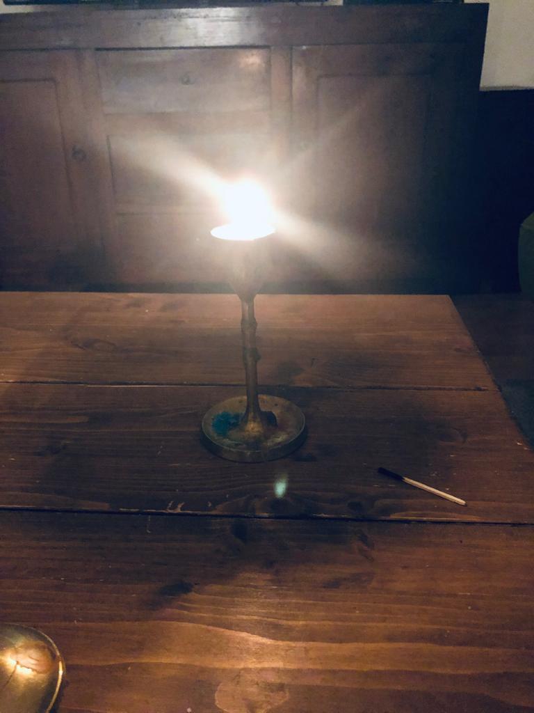 Ein Licht gegen das Vergessen. Ein Licht der Mahnung. Jörn Eiben