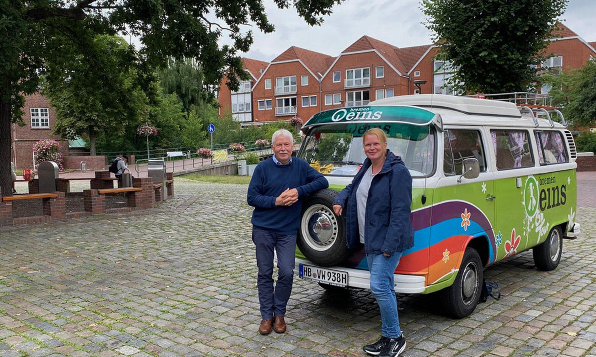 """Bremen Eins-Plattrundfahrt hält in OHZ - Hinweise gibt Klaus Sass """"op Platt"""""""