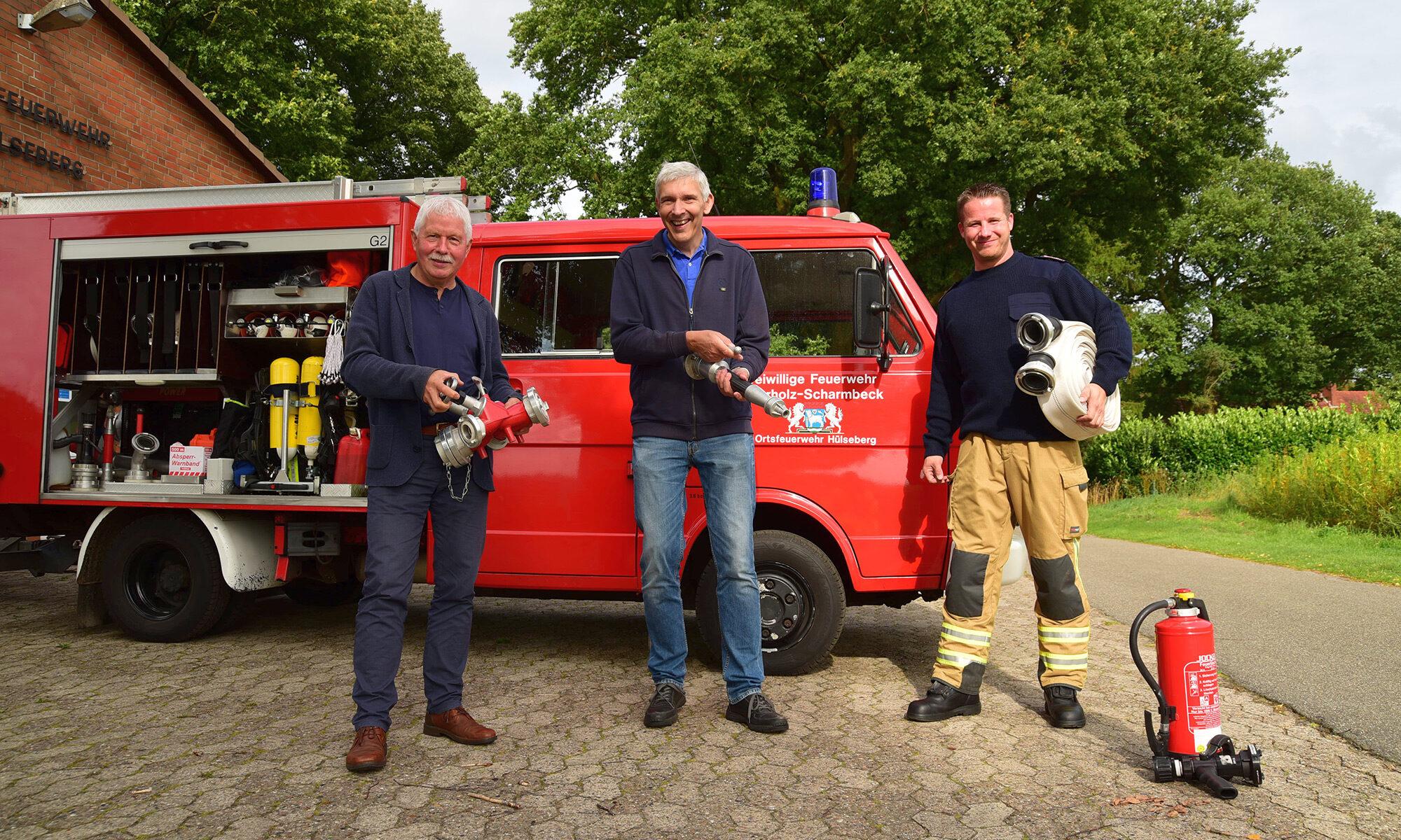 Torsten Rohde zu Besuch in Hülseberg