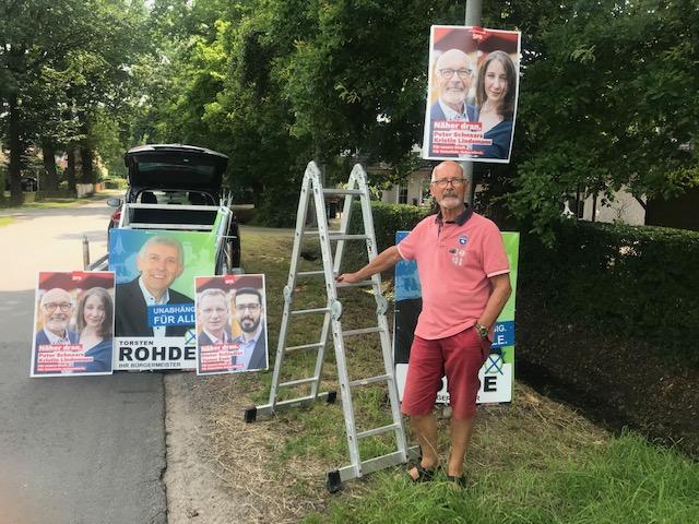 Der Wahlkampf hat begonnen...