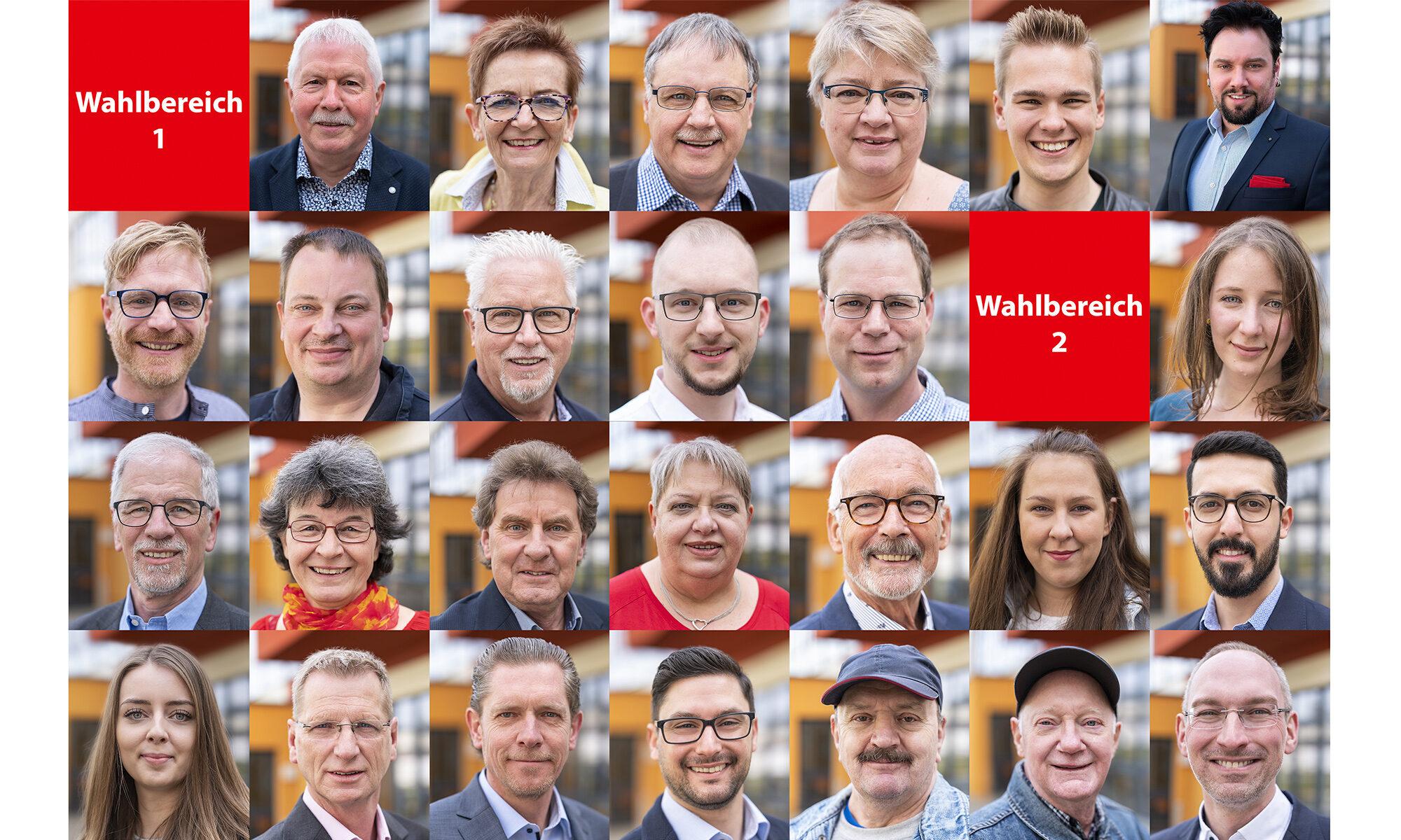 Unsere Kandidat:Innen für die Kommunalwahl am 12.09.2021
