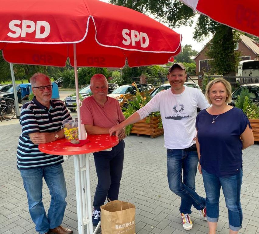 SPD würdigt Arbeit von Martina de Wolff